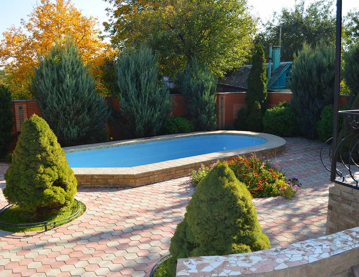 Бассейн дома для престарелых