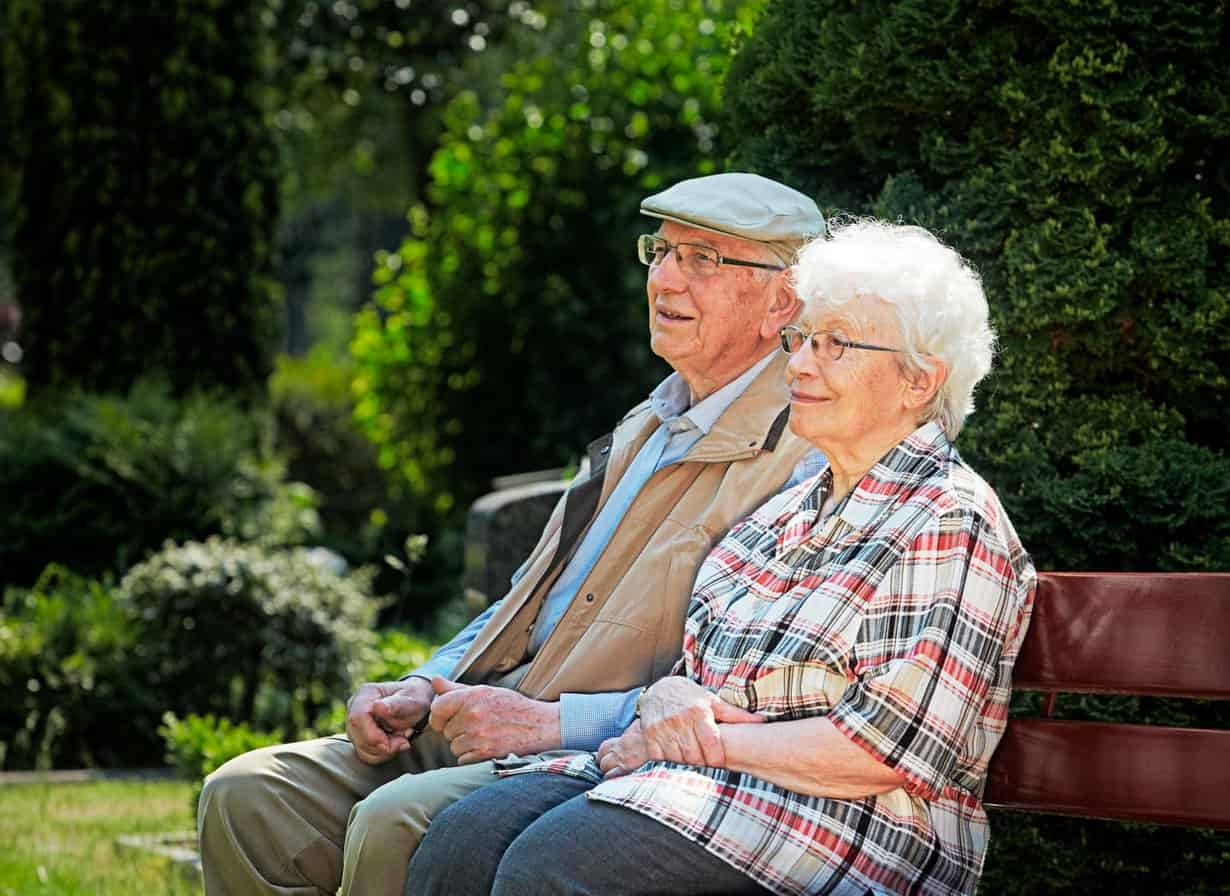 Уход за пожилыми в доме престарелых
