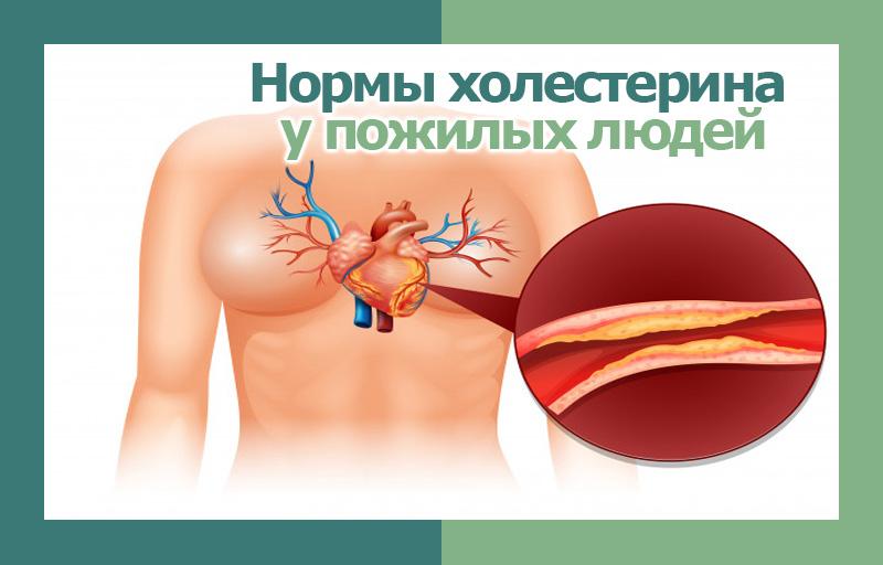 нормы холестерина у пожилых людей фото